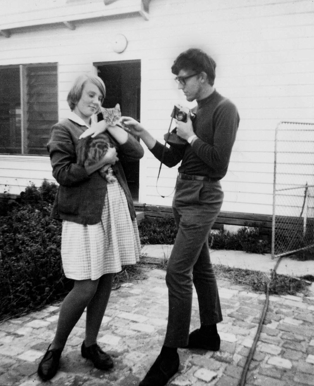 Fred with girlfriend Margaret