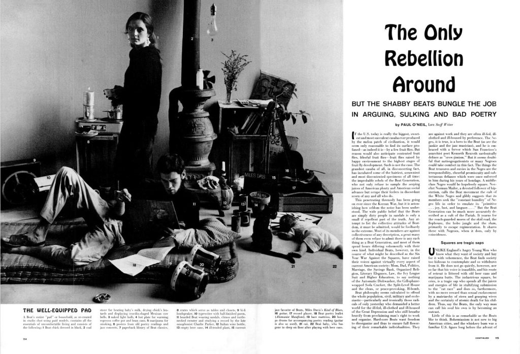 Opening spread from LIFE magazine, Nov 1959