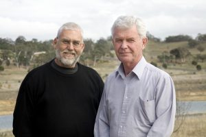 Fred Harden and Wayne Haslam